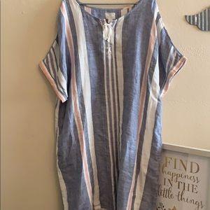 Beautiful like new Linen beach dress or loungewear